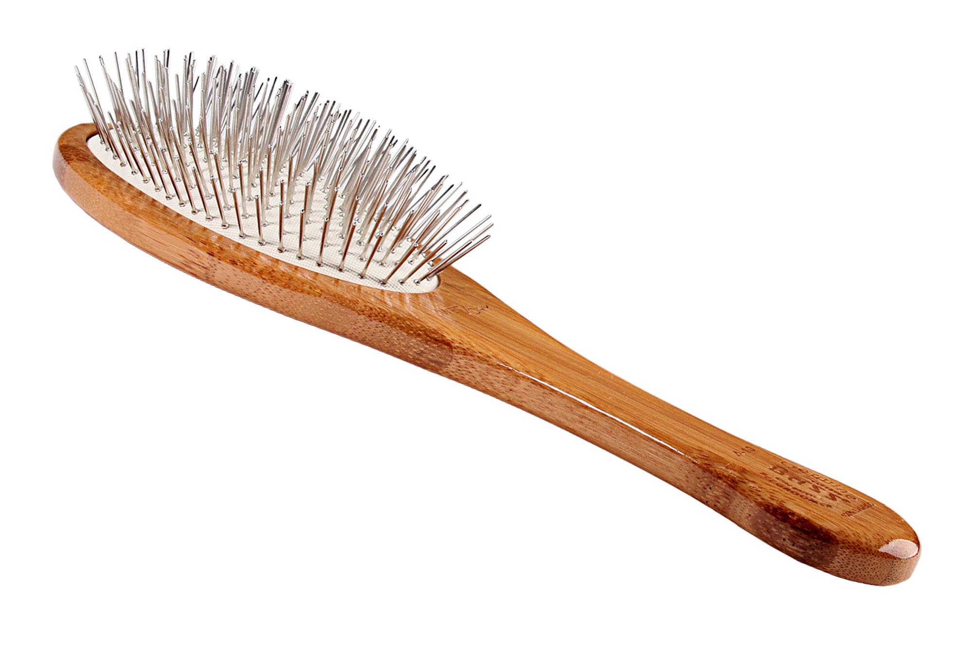 A10 Bamboo Alloy Pin Brush 3