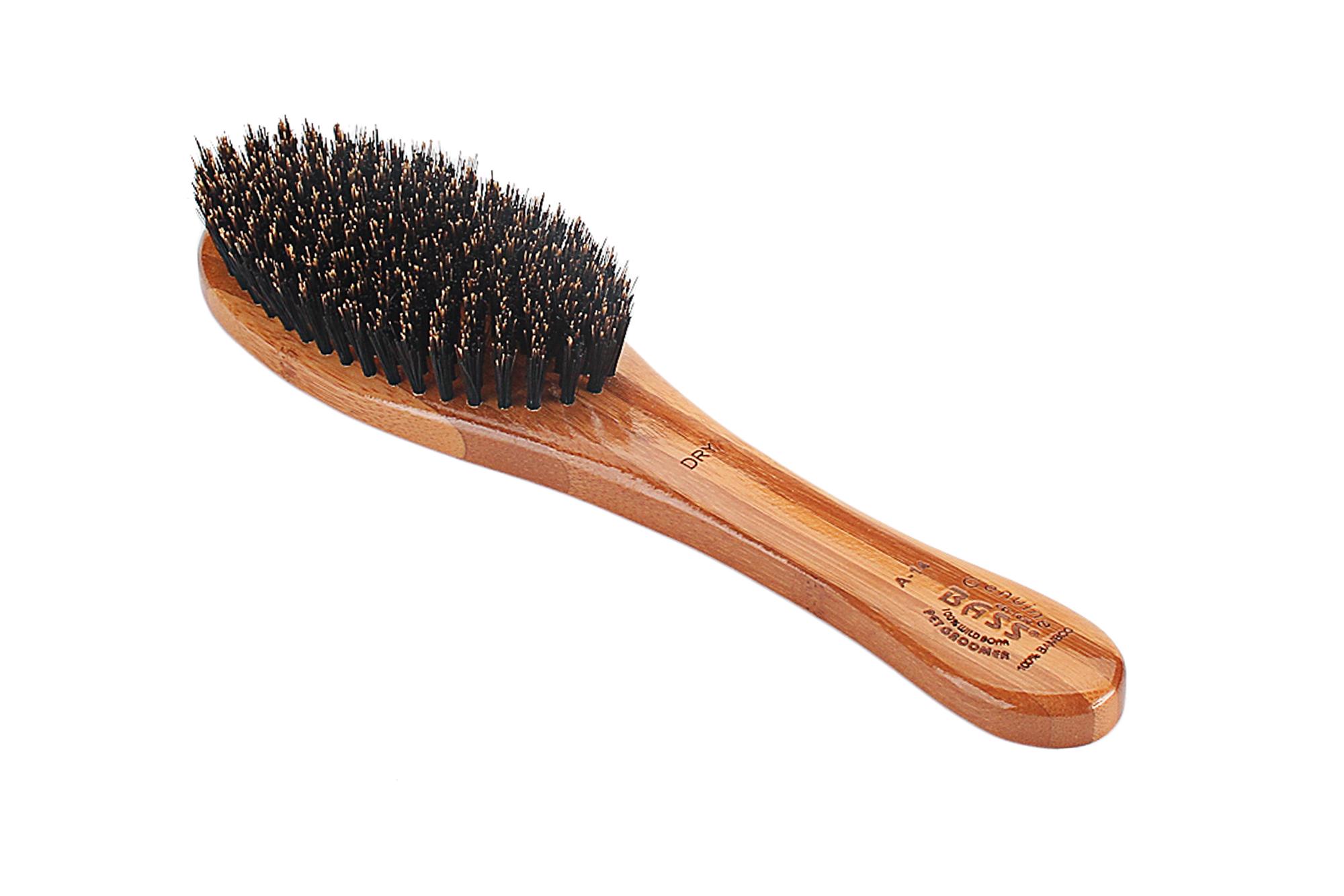 A14 Bamboo Natural Boar Bristle Brush 3